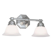 Norwell 8942-CH-FR - Kathryn 2 Light Sconce