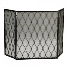 Cyan Designs 02003 - Gold Mesh Fire Screen