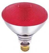 Westinghouse 0441000 - 100W BR38 Incandescent Reflector Red Flood E26 (Medium) Base, 120 Volt, Box