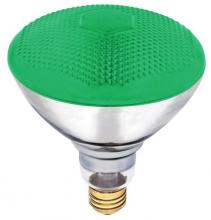 Westinghouse 0441300 - 100W BR38 Incandescent Reflector Green Flood E26 (Medium) Base, 120 Volt, Box