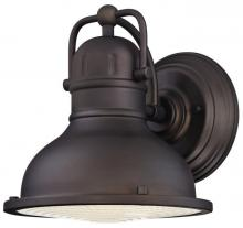 Westinghouse 6203400 - 1 Light LED Wall Fixture Oil Rubbed Bronze Finish with Clear Prismatic Lens