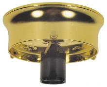 "Westinghouse 7023000 - 3 1/4"" Glass Shade Holder Kit Brass Finish"