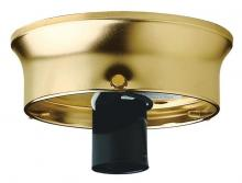 "Westinghouse 7023100 - 4"" Glass Shade Holder Kit Brass Finish"