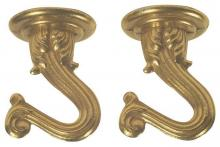 "Westinghouse 7045000 - 1 1/2"" Swag Hook Kit Polished Brass Finish"