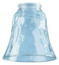 Westinghouse 8127700 - Beveled Clear Glass Bell Shade