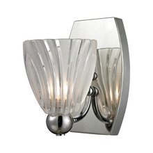 ELK Lighting 11790/1 - Lindale 1 Light Vanity In Polished Chrome And Sc
